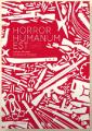 Couverture Horror humanum Est Editions Makisapa 2020