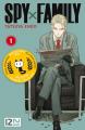 Couverture Spy X Family, tome 1 Editions Kurokawa 2020
