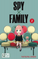 Couverture Spy X Family, tome 2 Editions Kurokawa 2020