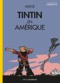 Couverture Les aventures de Tintin, tome 03 : Tintin en Amérique Editions Moulinsart 2020