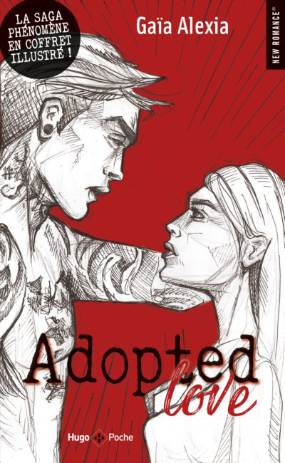 Couverture Adopted Love, illustré, tome 1