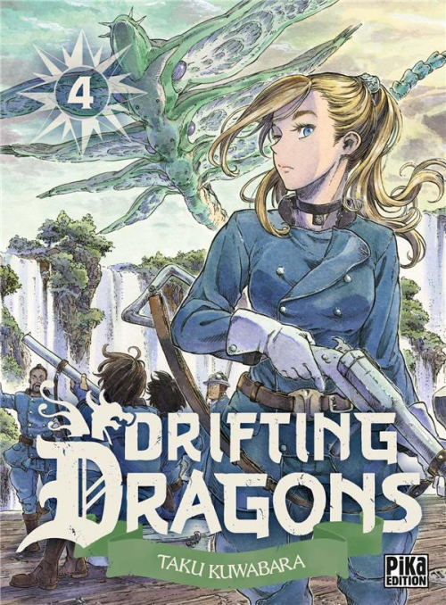 Couverture Drifting dragons, tome 04