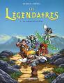 Couverture Les Légendaires, tome 01 : La pierre de Jovénia Editions Delcourt (Jeunesse) 2004