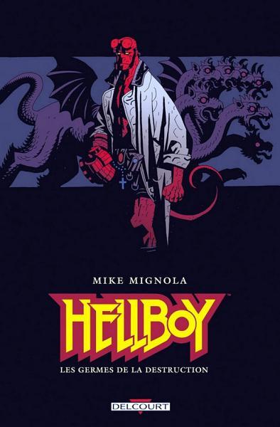 Couverture Hellboy, tome 01 : Les germes de la destruction