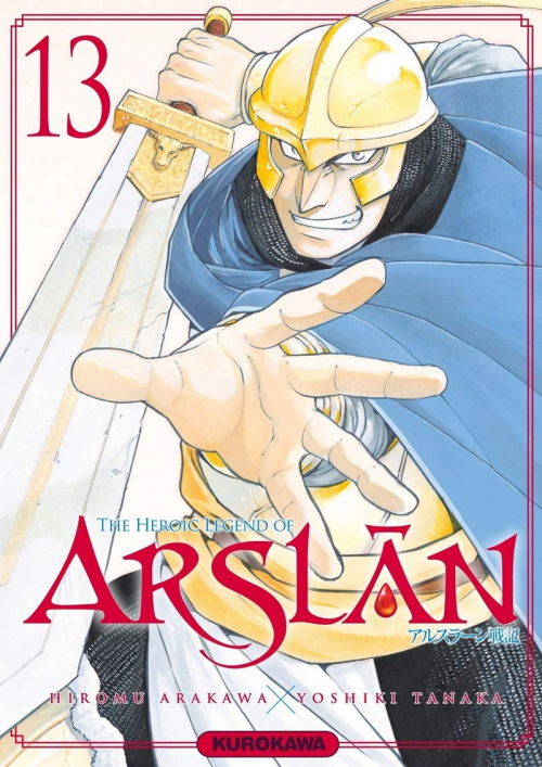 Couverture The Heroic Legend of Arslân, tome 13