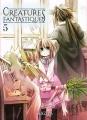 Couverture Créatures fantastiques, tome 5 Editions Komikku 2020
