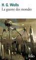 Couverture La guerre des mondes Editions Folio  2018