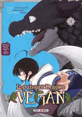 Couverture Le puissant Dragon Vegan, tome 3