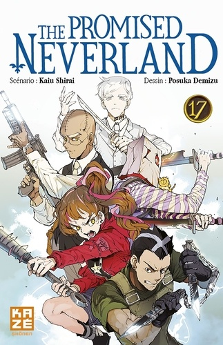 Couverture The Promised Neverland, tome 17