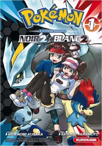 Couverture Pokémon : Noir et Blanc 2, tome 1