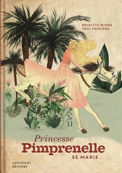 Couverture Princesse Pimprenelle se marie