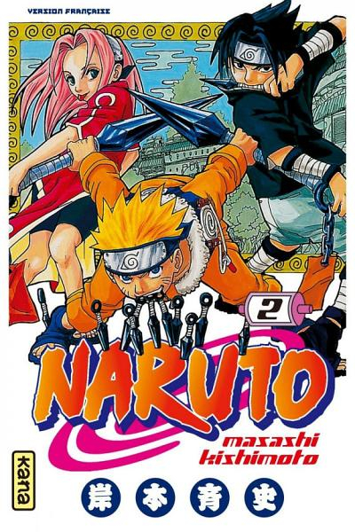 Couverture Naruto, tome 02