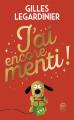 Couverture J'ai encore menti ! Editions J'ai Lu (Collect'or) 2020