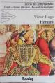 Couverture Hernani Editions Bordas (Univers des lettres) 1984
