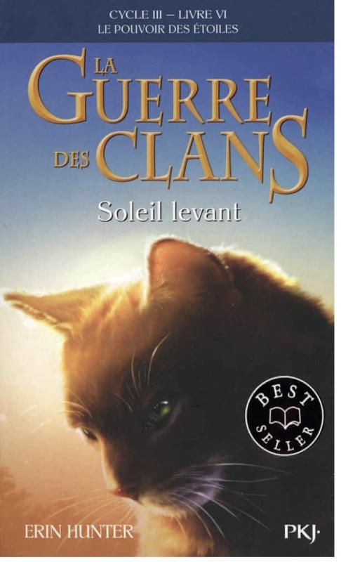 Couverture La guerre des clans, cycle 3 : Le pouvoir des étoiles, tome 6 : Soleil levant