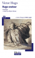 Couverture Hugo orateur : anthologie Editions Folio  (Classique) 2015