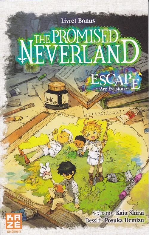 Couverture The Promised Neverland, Hors-Série : Escape - Arc Evasion