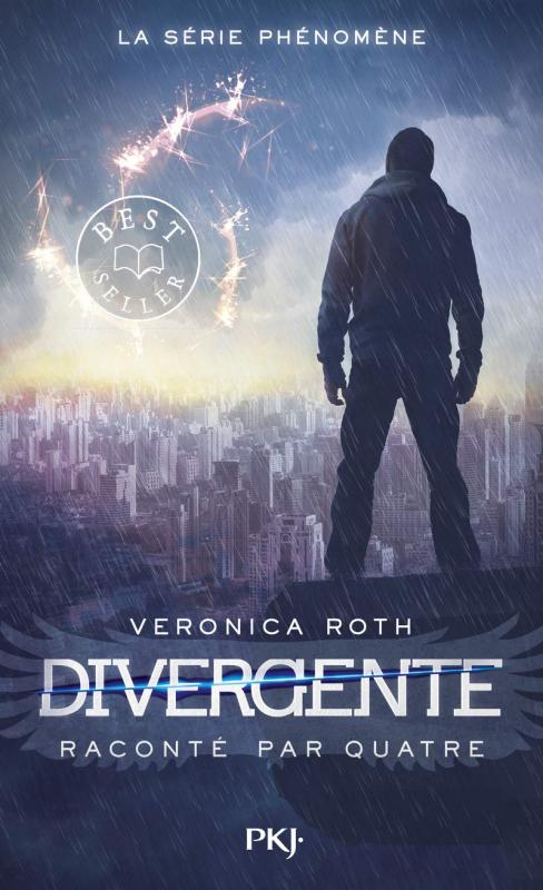 Couverture Divergente raconté par Quatre