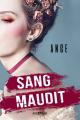 Couverture Sang maudit Editions Castelmore (Big Bang) 2019