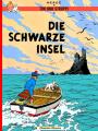 Couverture Les aventures de Tintin, tome 07 : L'Île Noire Editions Carlsen (DE) (Comics) 1998