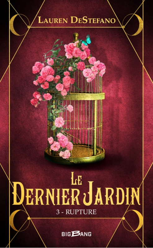 Couverture Le Dernier Jardin, tome 3 : Rupture
