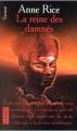 Couverture Chroniques des vampires, tome 03 : La reine des damnés Editions Pocket (Terreur) 1999