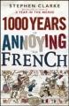 Couverture 1000 ans de mésentente cordiale Editions Black Swan  2011