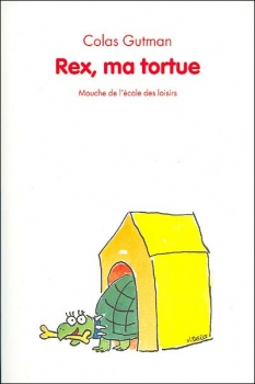 Couverture Rex, ma tortue