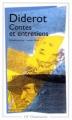 Couverture Contes et Entretiens Editions Flammarion (GF) 1998