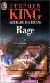 Couverture Rage Editions J'ai Lu 1999