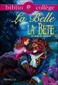 Couverture La belle et la bête Editions Hachette (Biblio collège) 2010