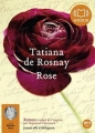 Couverture Rose Editions Audiolib 2011