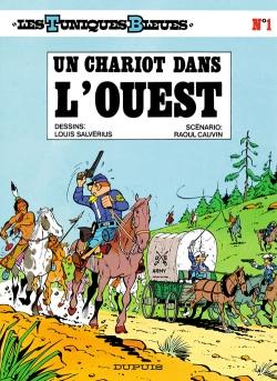 Couverture Les Tuniques Bleues, tome 01 : Un Chariot dans l'Ouest