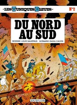 Couverture Les Tuniques Bleues, tome 02 : Du Nord au Sud