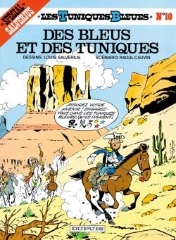 Couverture Les Tuniques Bleues, tome 10 : Des Bleus et des Tuniques