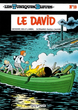 Couverture Les Tuniques Bleues, tome 19 : Le David
