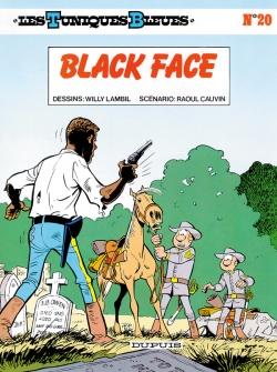Couverture Les Tuniques Bleues, tome 20 : Black Face