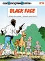 Couverture Les Tuniques Bleues, tome 20 : Black Face Editions Dupuis 1983