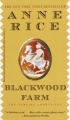 Couverture Chroniques des vampires, tome 09 : Le domaine Blackwood Editions Ballantine Books 2003