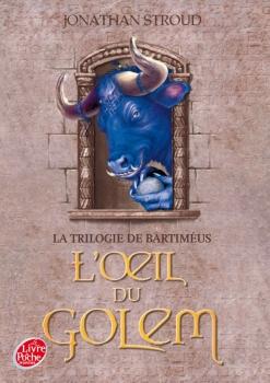Couverture Bartiméus, tome 2 : L'oeil du golem