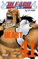 Couverture Bleach, tome 41 : Heart Editions Glénat (Shônen) 2011