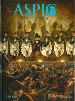 Couverture ASPIC : Détectives de l'étrange, tome 2 : L'Or du vice