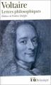 Couverture Lettres philosophiques Editions Folio  (Classique) 1986