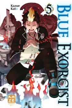 Couverture Blue Exorcist, tome 05