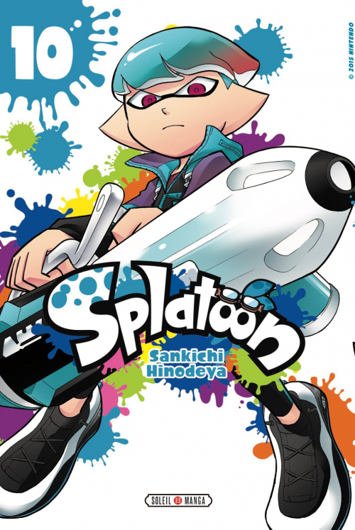 Couverture Splatoon, tome 10