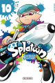 Couverture Splatoon, tome 10 Editions Soleil (Manga - Shônen) 2020