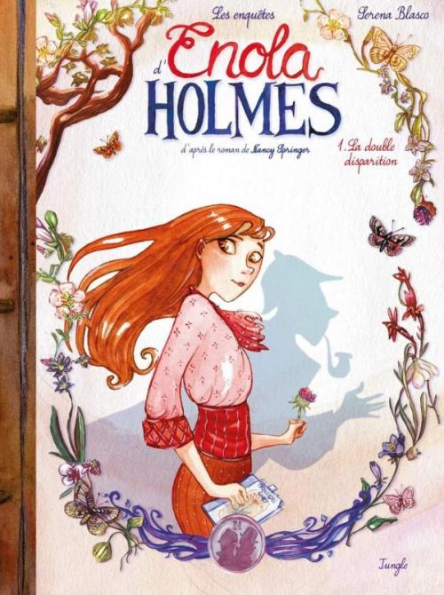 Couverture Les enquêtes d'Enola Holmes (BD), tome 1 : La double disparition