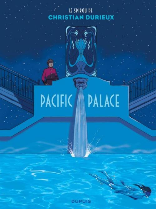 Couverture Une aventure de Spirou et Fantasio par..., tome 18 : Pacific Palace