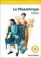 Couverture Le misanthrope / Le misanthrope ou l'atrabilaire amoureux Editions Flammarion (Étonnants classiques) 2018
