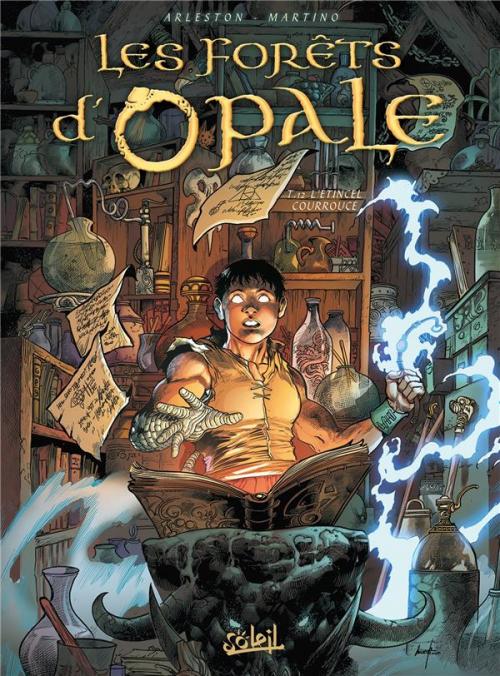 Couverture Les forêts d'Opale, tome 12 : L'étincel courroucé